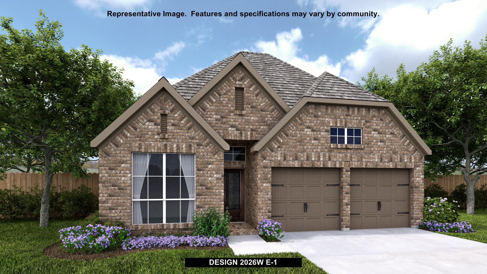 Exterior featured in the 2026W By Perry Homes in Dallas, TX
