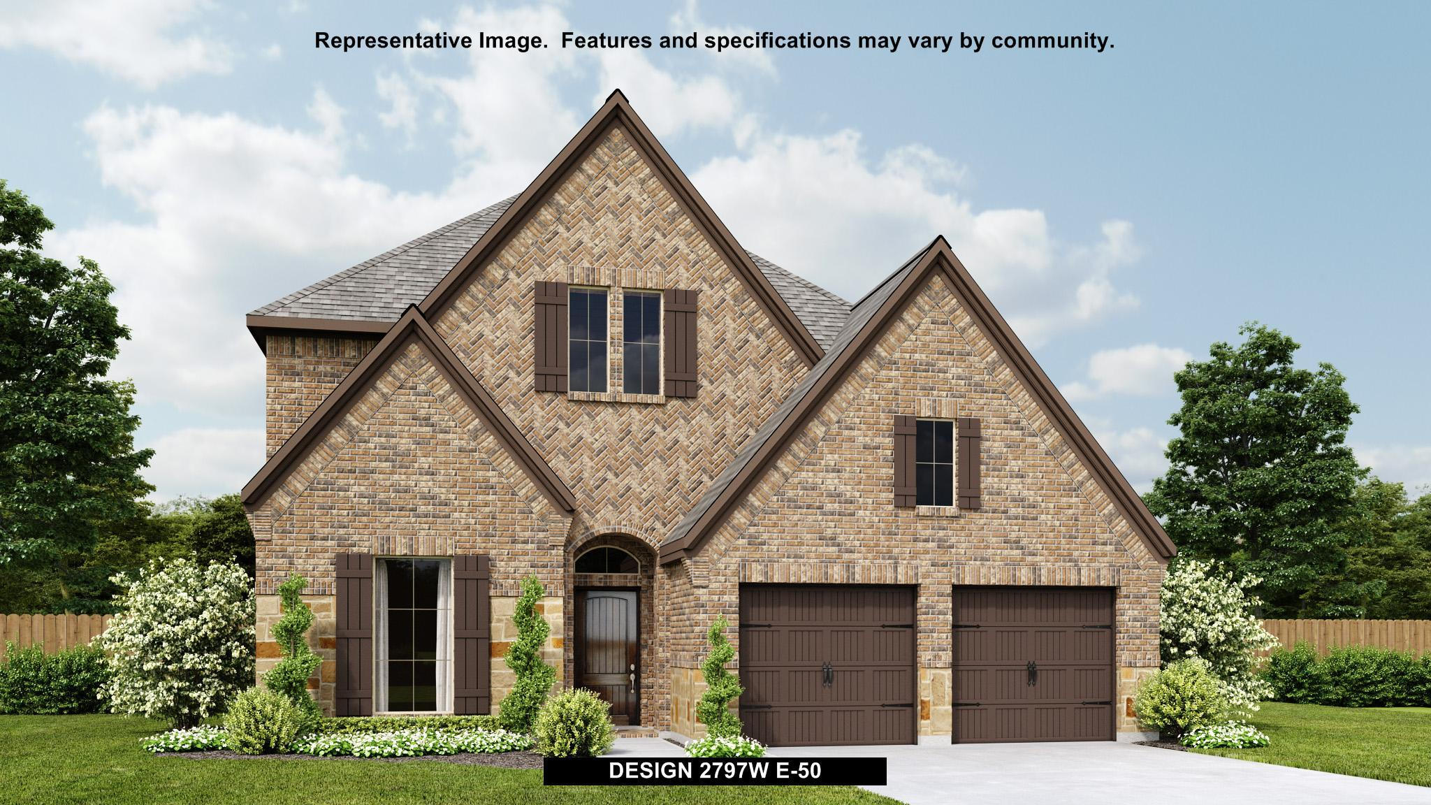 Exterior featured in the 2797W By Perry Homes in Austin, TX