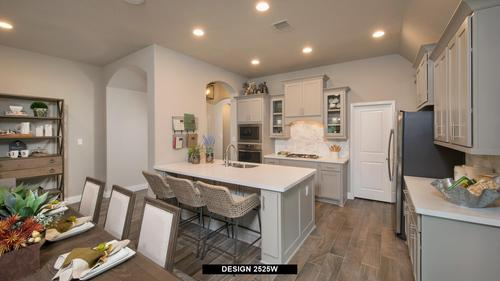Kitchen-in-2525W-at-The Village of Mill Creek 60'-in-Seguin