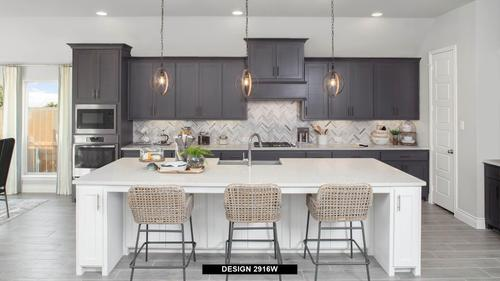 Kitchen-in-2916W-at-Lakes at Creekside 65'-in-Tomball