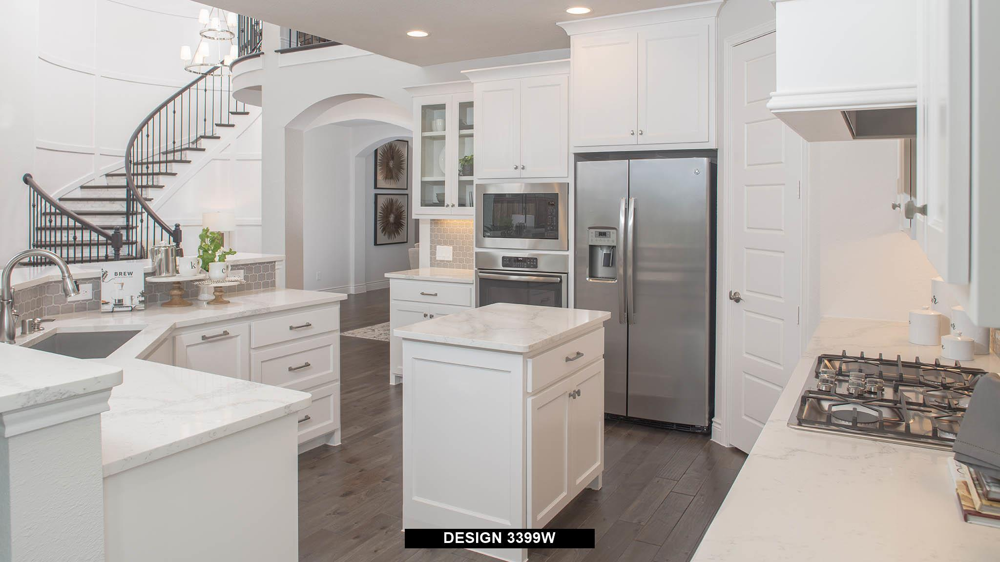Kitchen-in-3399W-at-Lakes at Creekside 65'-in-Tomball