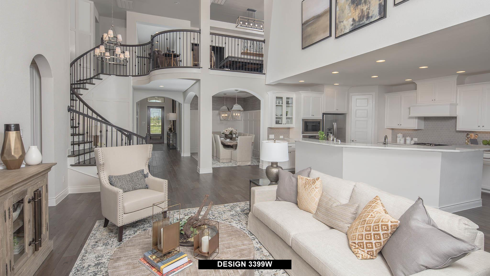 Greatroom-and-Dining-in-3399W-at-Lakes at Creekside 65'-in-Tomball