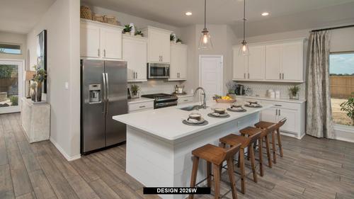 Kitchen-in-2026W-at-Trails at Westpointe 45'-in-San Antonio