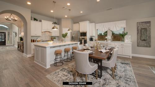 Kitchen-in-2504W-at-The Village of Mill Creek 50'-in-Seguin
