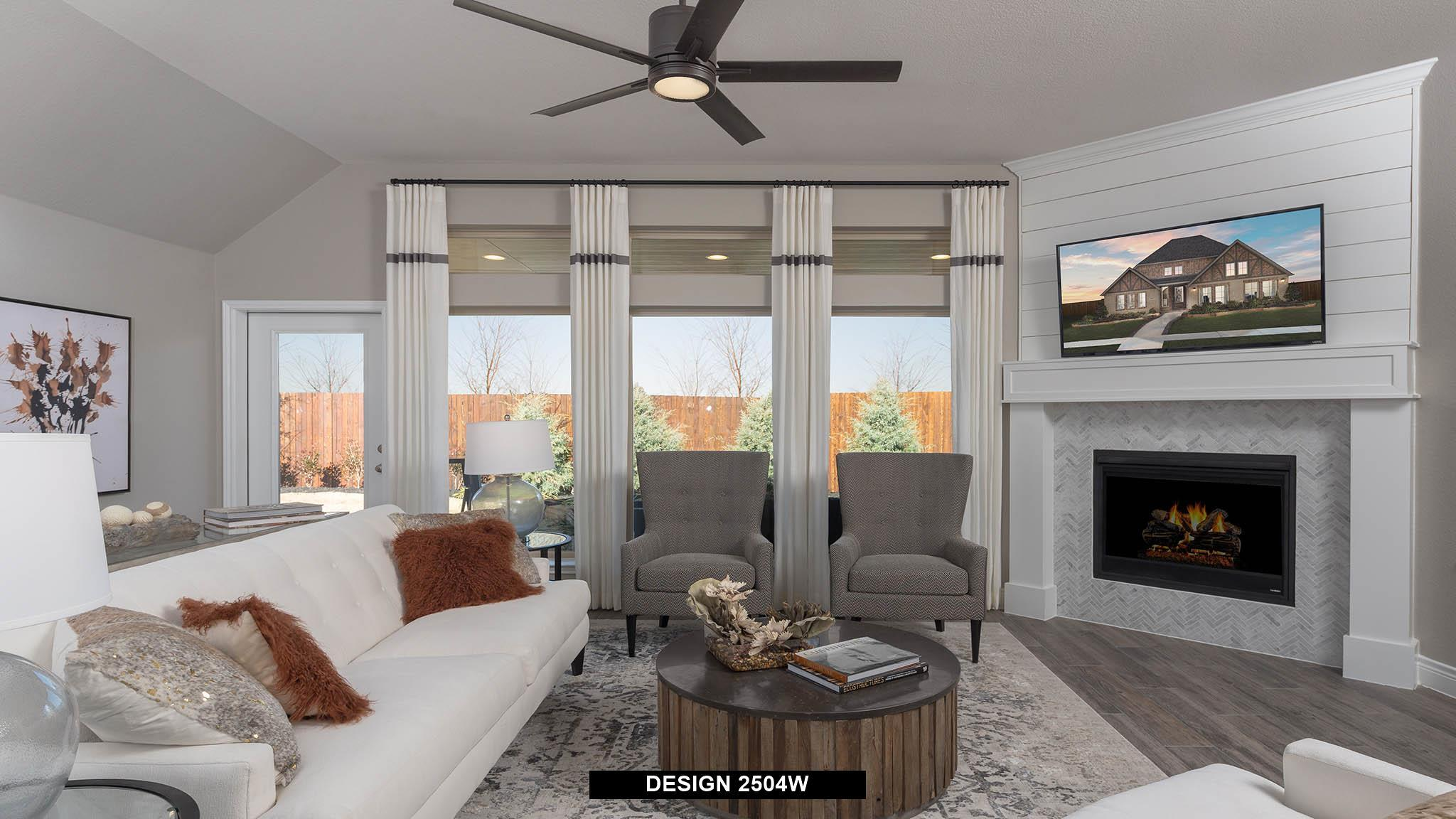 Living Area featured in the 2504W By Perry Homes in Dallas, TX