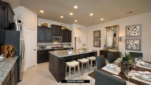 Kitchen-in-2529W-at-Trails at Westpointe 50'-in-San Antonio