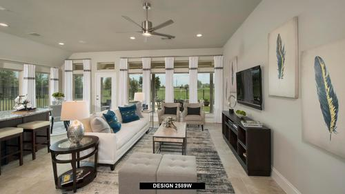 Greatroom-and-Dining-in-2589W-at-Trails at Westpointe 50'-in-San Antonio
