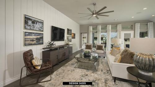 Greatroom-and-Dining-in-2420S-at-Trails at Westpointe 50'-in-San Antonio
