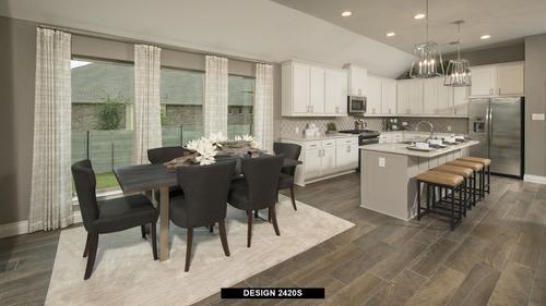Kitchen-in-2420S-at-Trails at Westpointe 50'-in-San Antonio