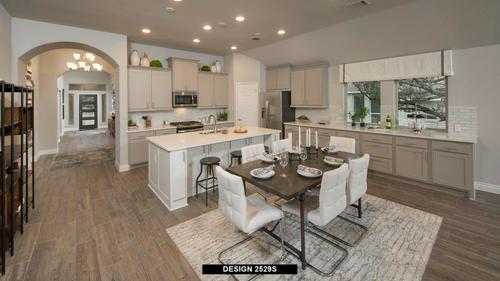 Kitchen-in-2529S-at-Trails at Westpointe 50'-in-San Antonio