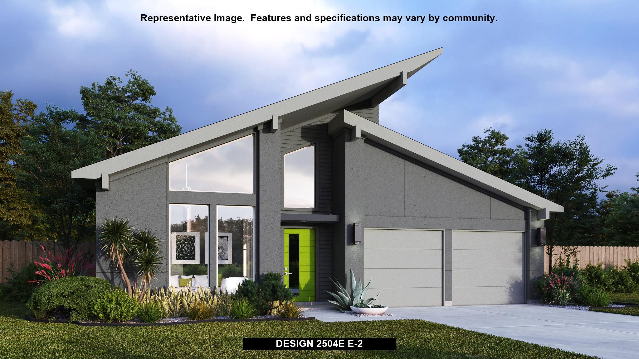Exterior featured in the 2504E By Perry Homes in Austin, TX