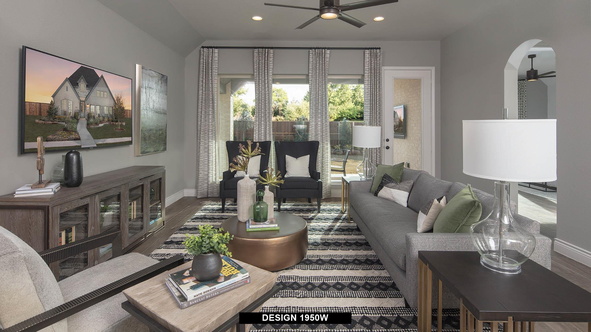Living Area featured in the 1950W By Perry Homes in San Antonio, TX