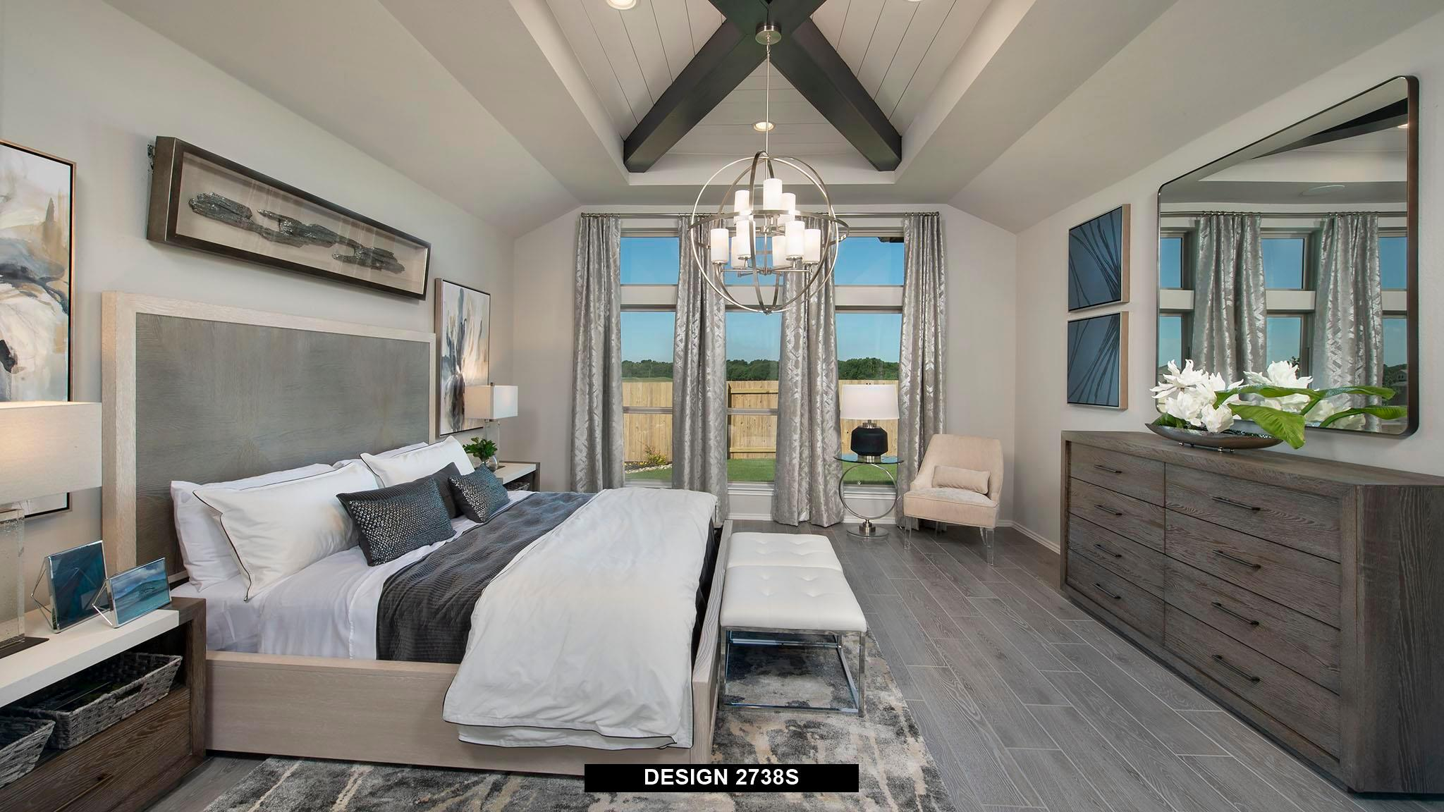 Bedroom featured in the 2738S By Perry Homes in San Antonio, TX