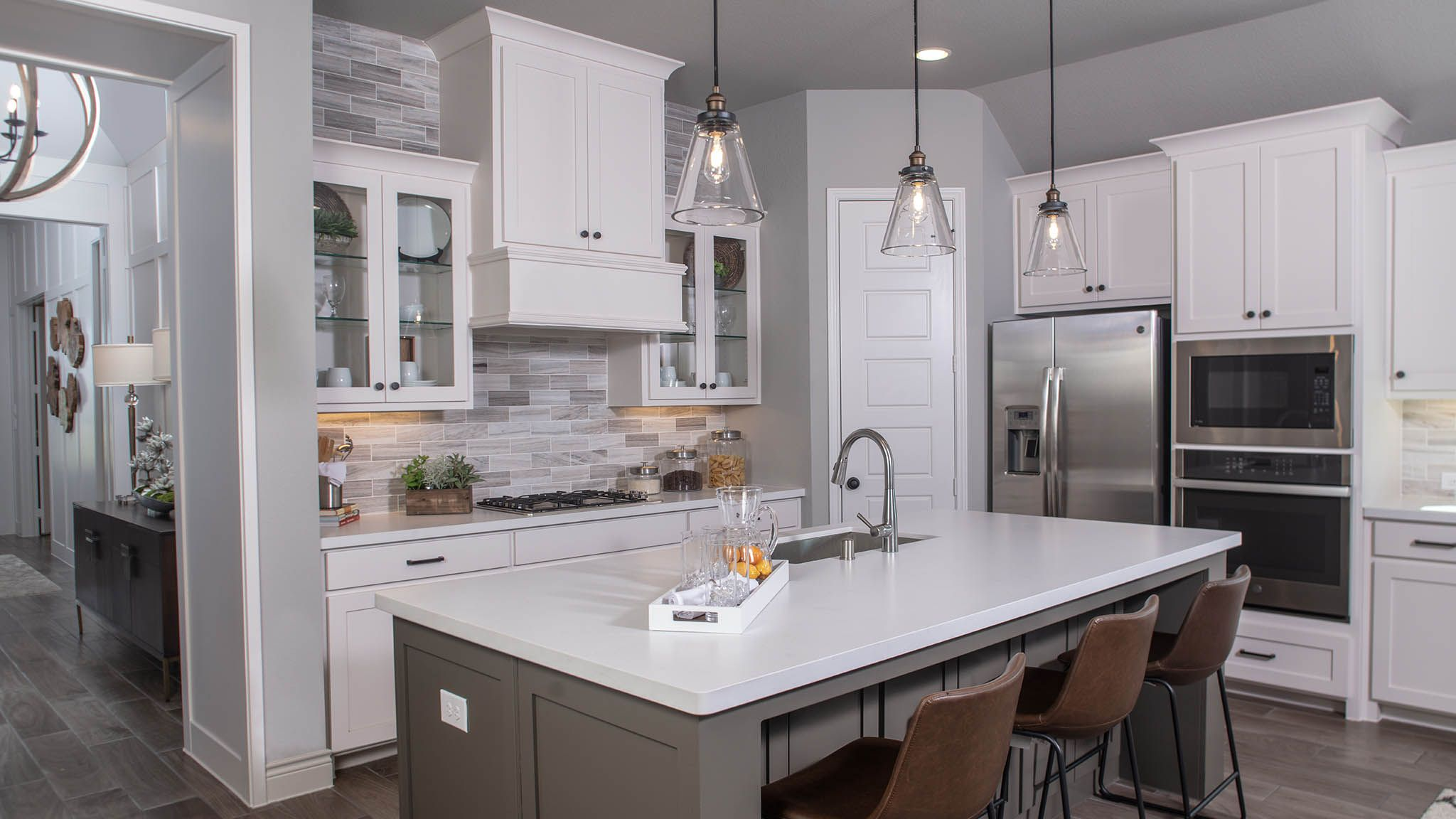 Kitchen featured in the 2504W By Perry Homes in Dallas, TX