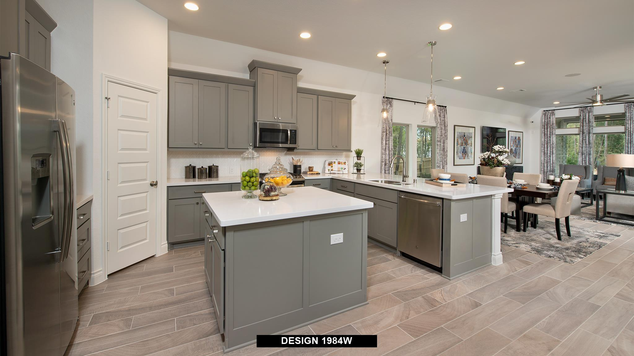 Kitchen featured in the 1984W By Perry Homes in Houston, TX
