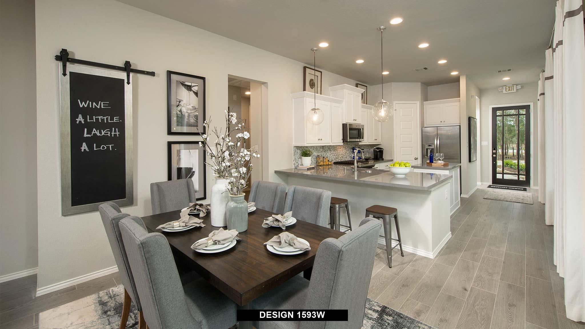 Kitchen featured in the 1593W By Perry Homes in Dallas, TX