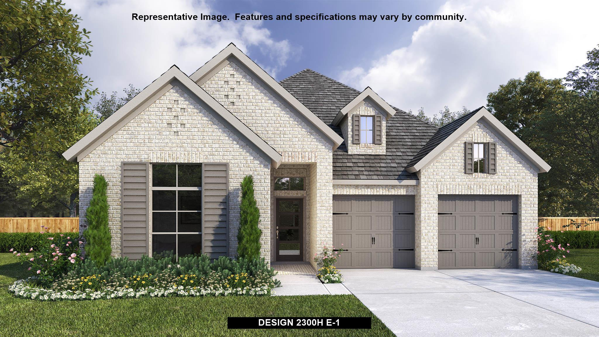 Exterior featured in the 2300H By Perry Homes in Dallas, TX