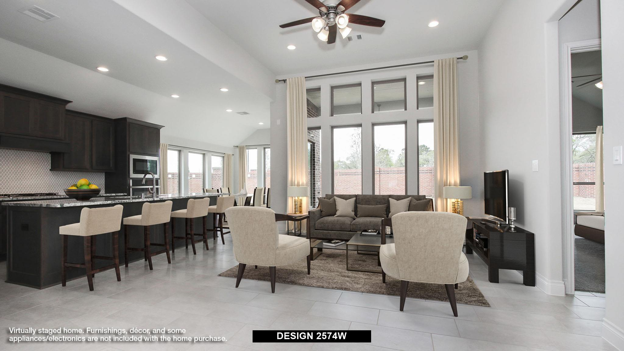 Living Area featured in the 2574W By Perry Homes in Dallas, TX