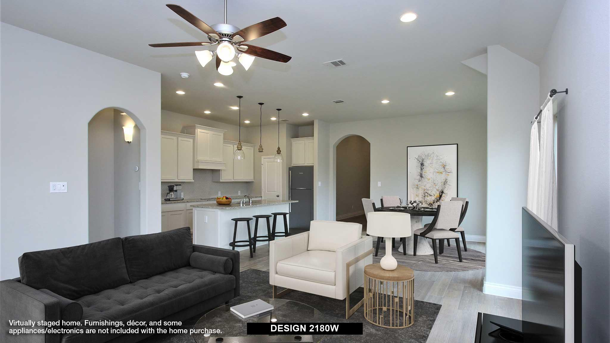 Living Area featured in the 2180W By Perry Homes in Dallas, TX
