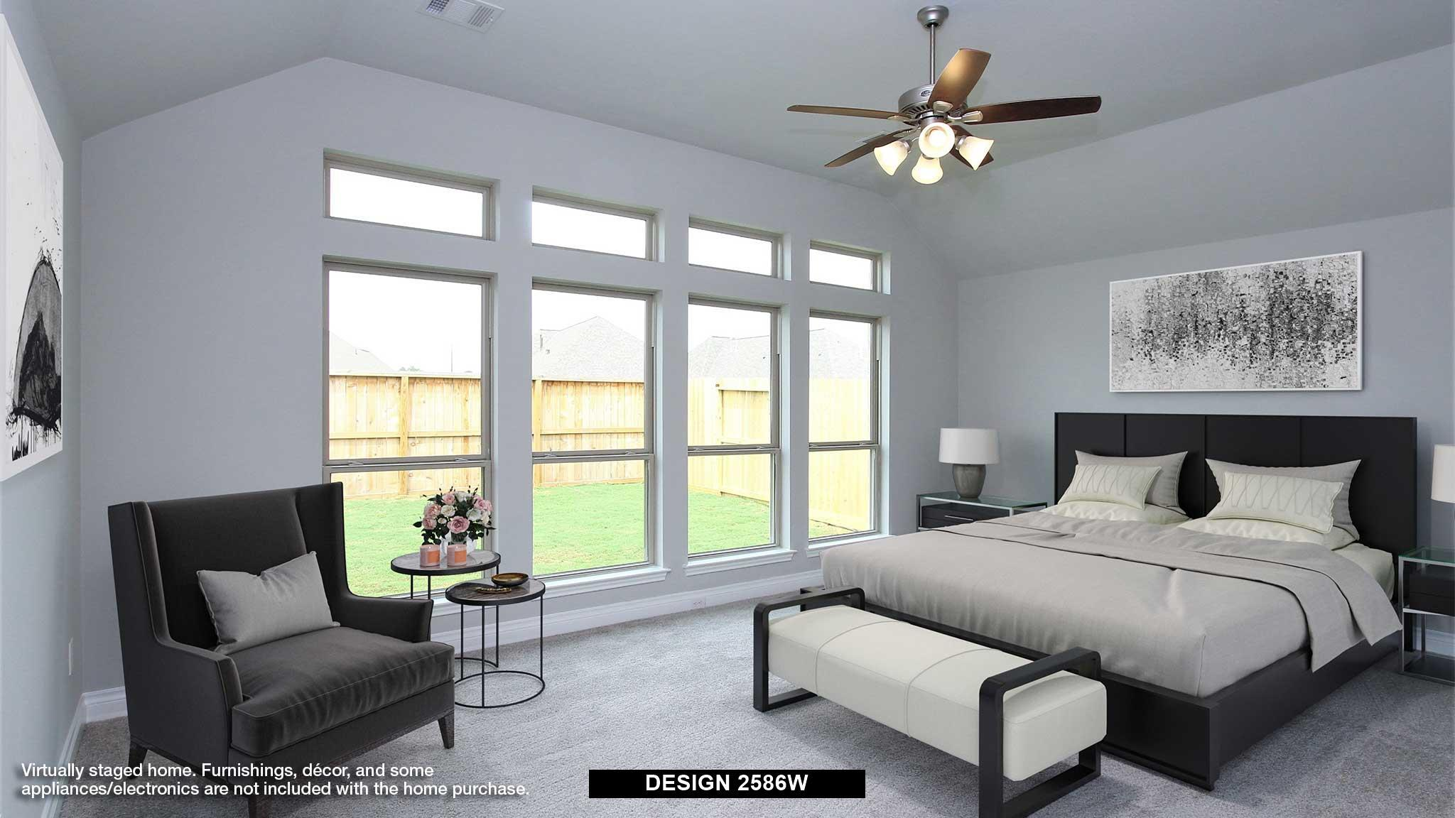 Bedroom featured in the 2586W By Perry Homes in San Antonio, TX