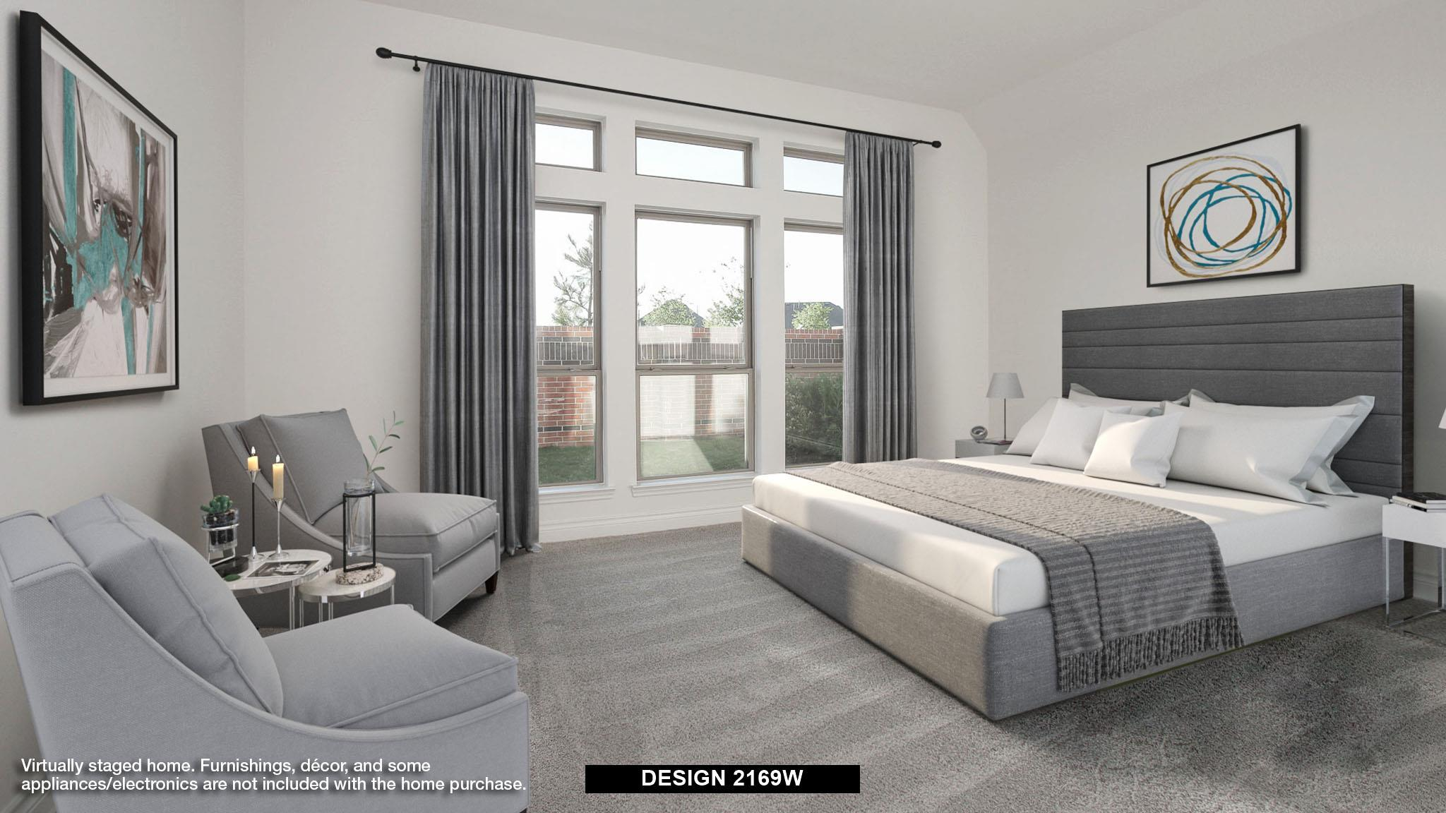 Bedroom featured in the 2169W By Perry Homes in Dallas, TX