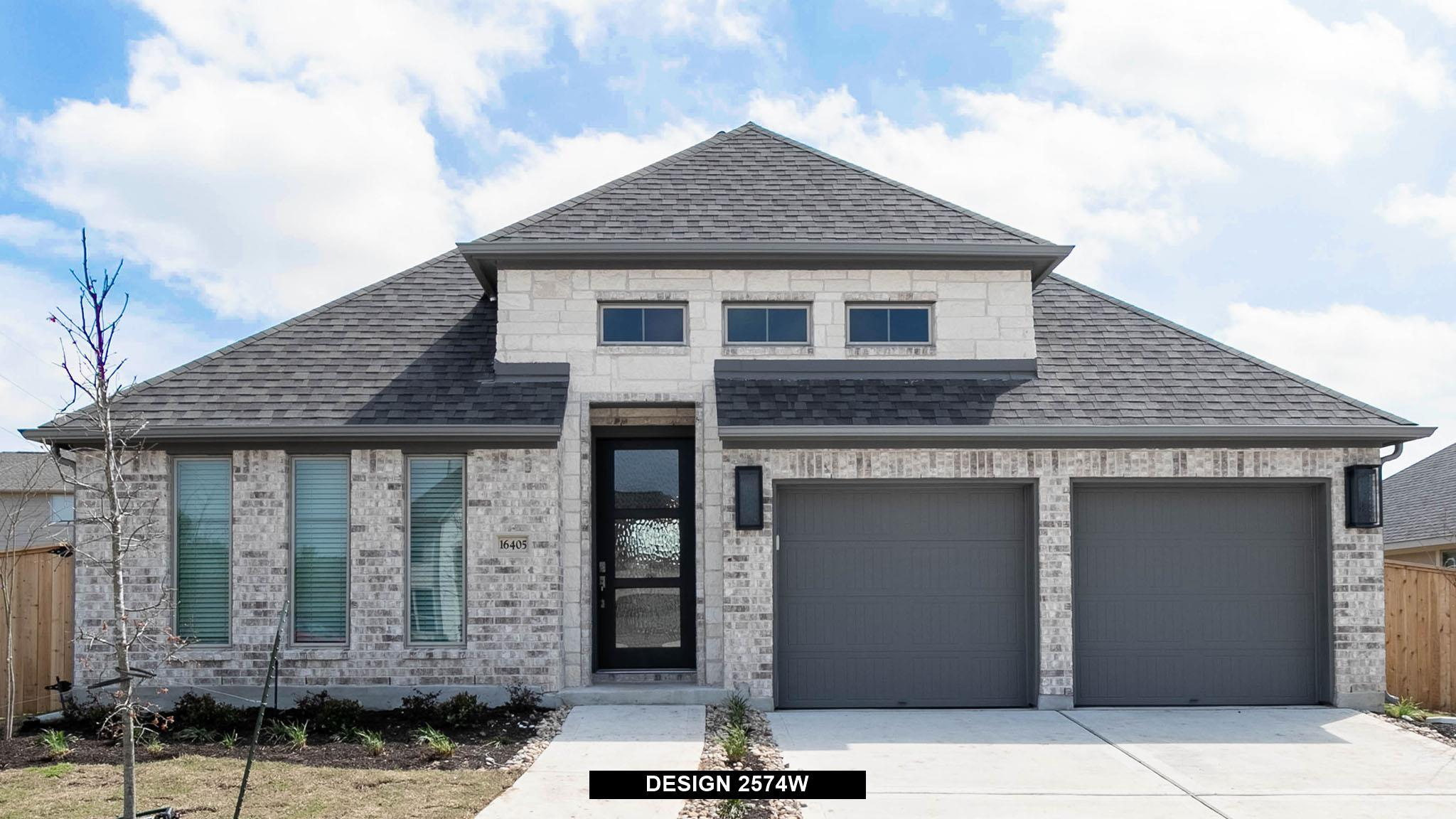 Exterior featured in the 2574W By Perry Homes in Dallas, TX