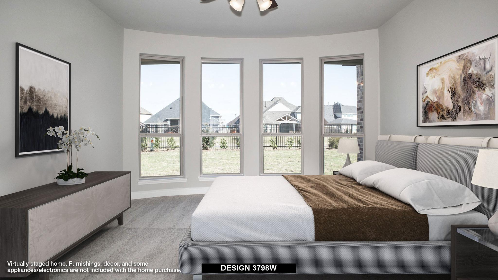 Bedroom featured in the 3798W By Perry Homes in Houston, TX