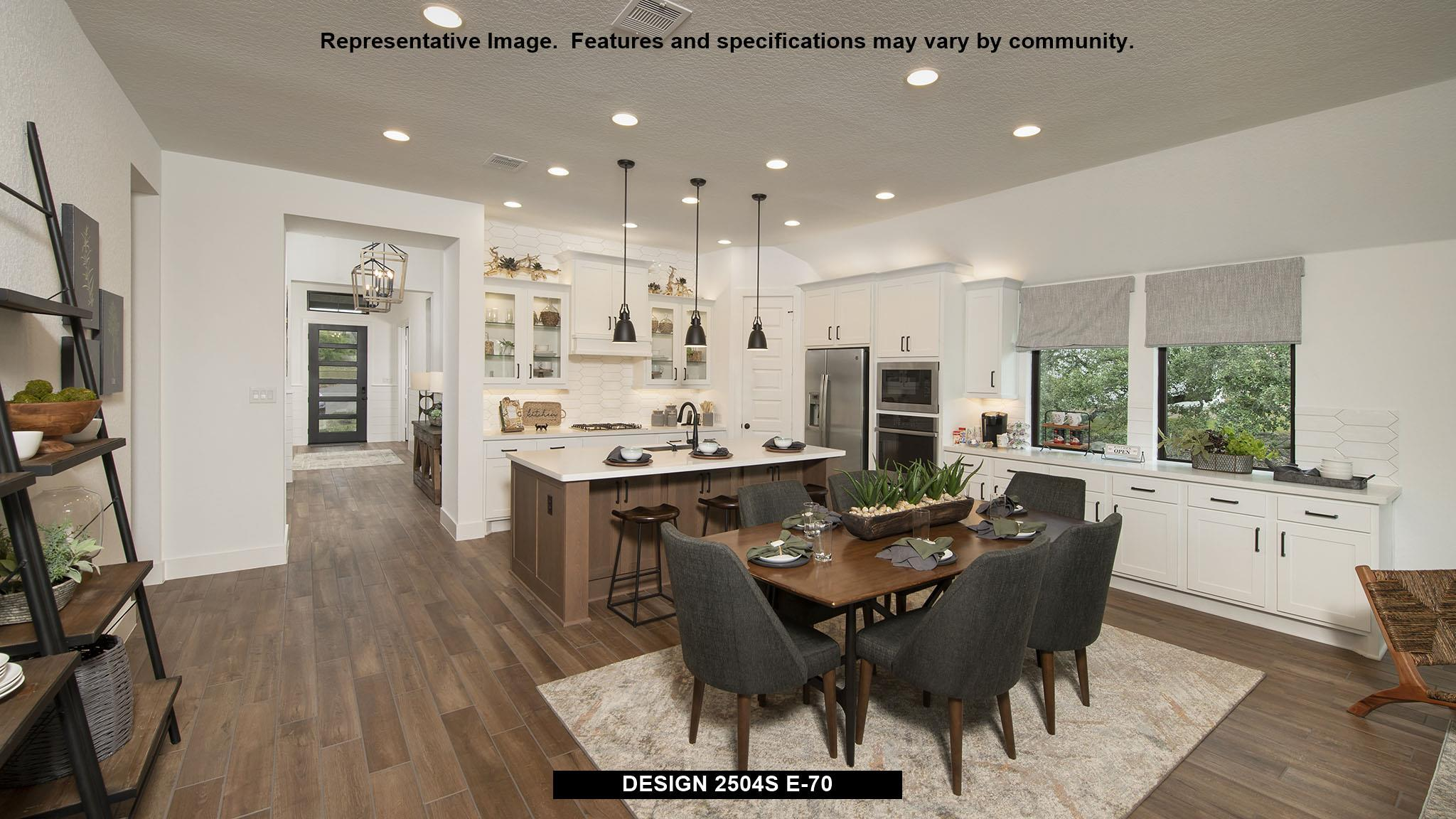 Kitchen featured in the 2504S By Perry Homes in San Antonio, TX