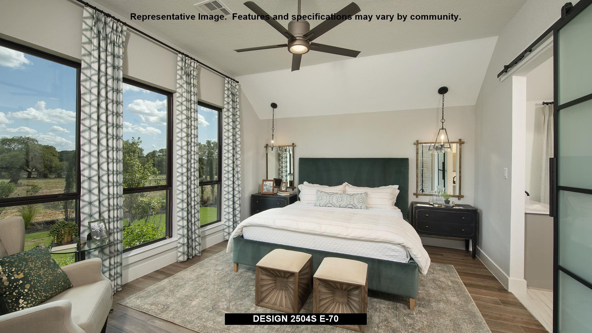 Bedroom featured in the 2504S By Perry Homes in San Antonio, TX