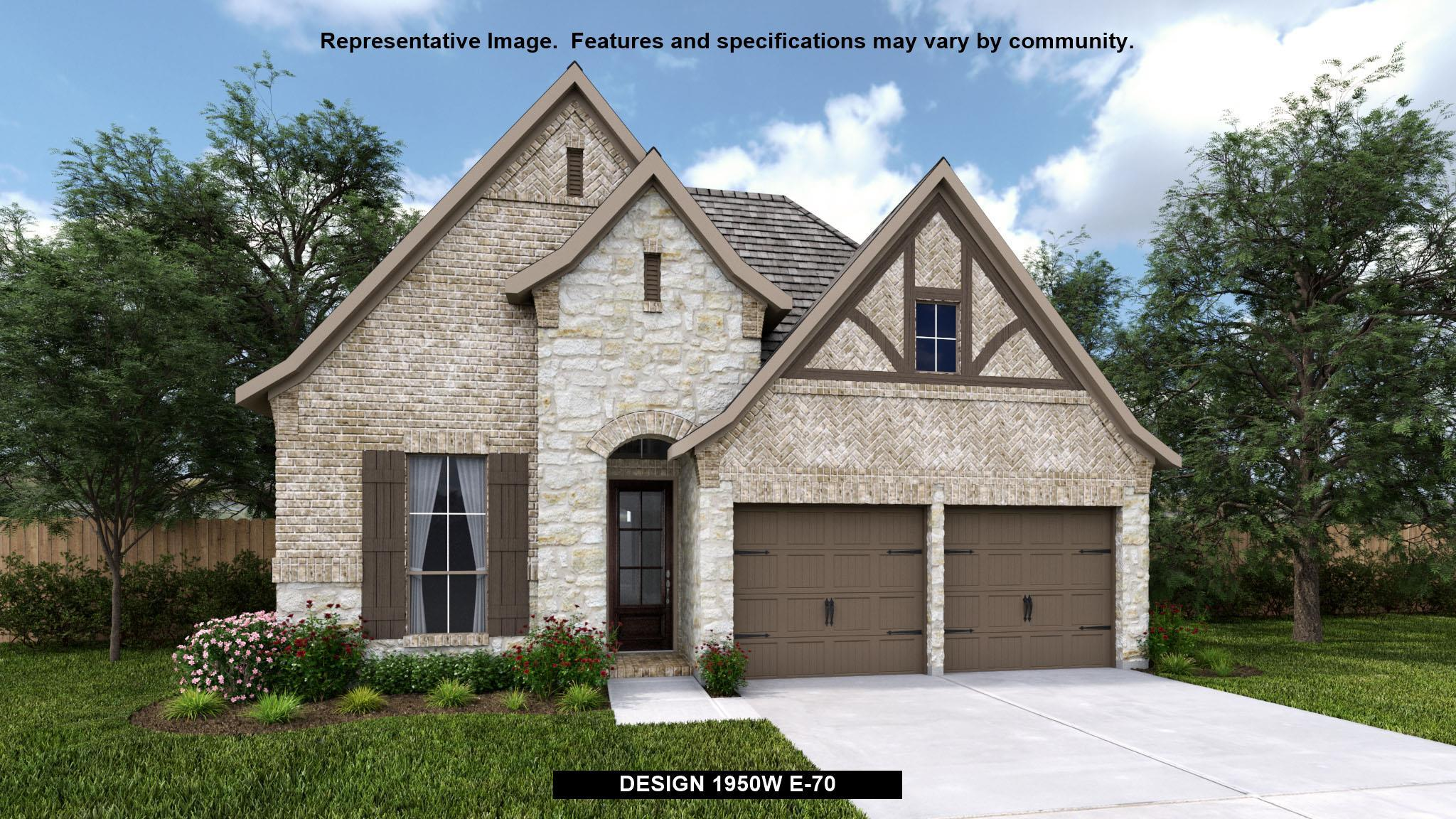 Exterior featured in the 1950W By Perry Homes in Houston, TX