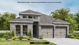 2049W - Bridgeland 45': Cypress, Texas - Perry Homes