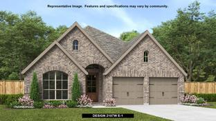 2187W - Veramendi 50': New Braunfels, Texas - Perry Homes