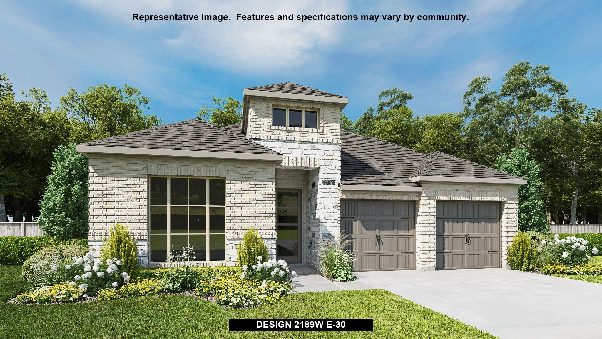 Exterior featured in the 2189W By Perry Homes in San Antonio, TX