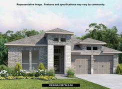 2267W - Woodforest 50': Montgomery, Texas - Perry Homes