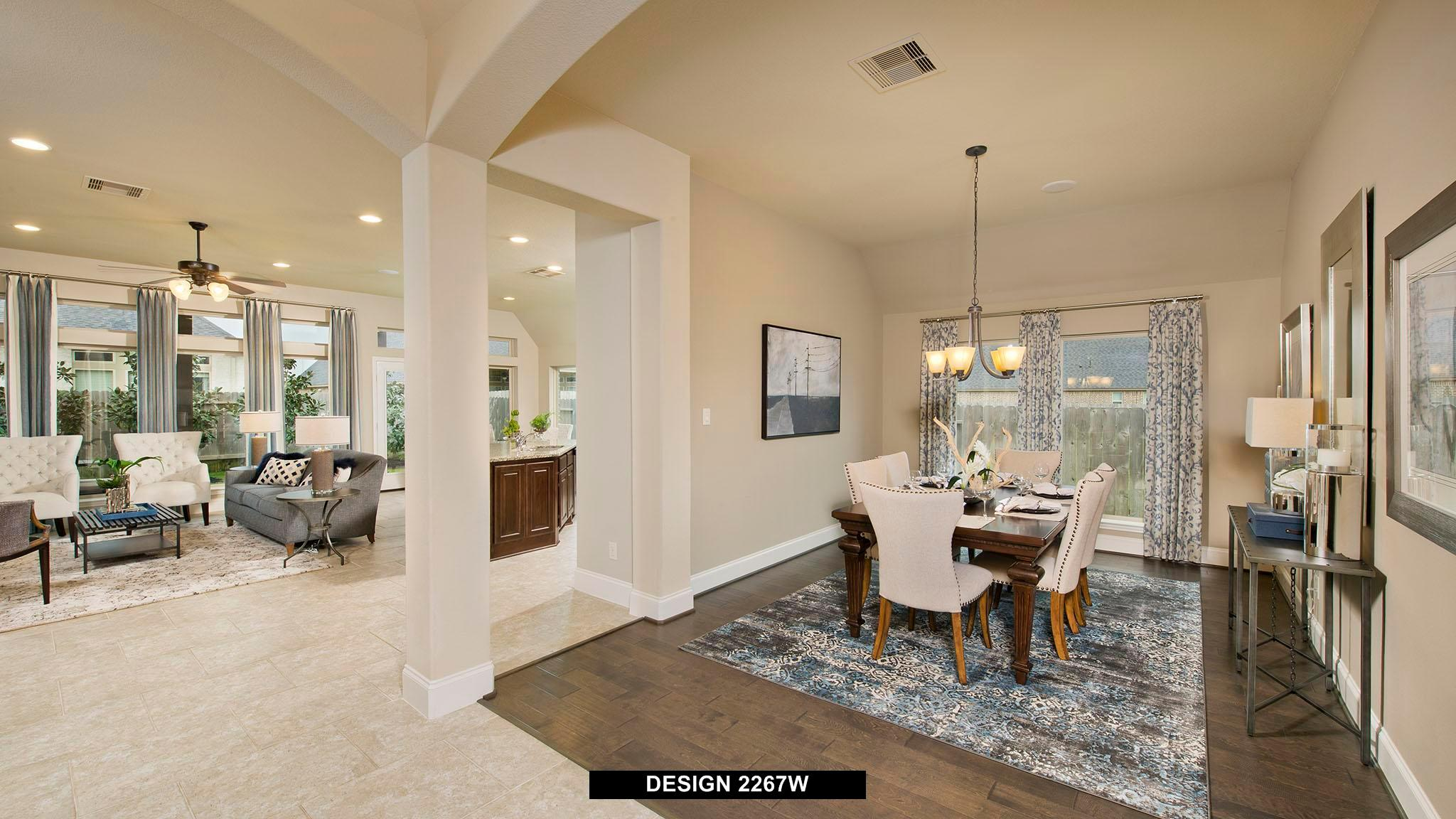 Living Area featured in the 2267W By Perry Homes in Dallas, TX