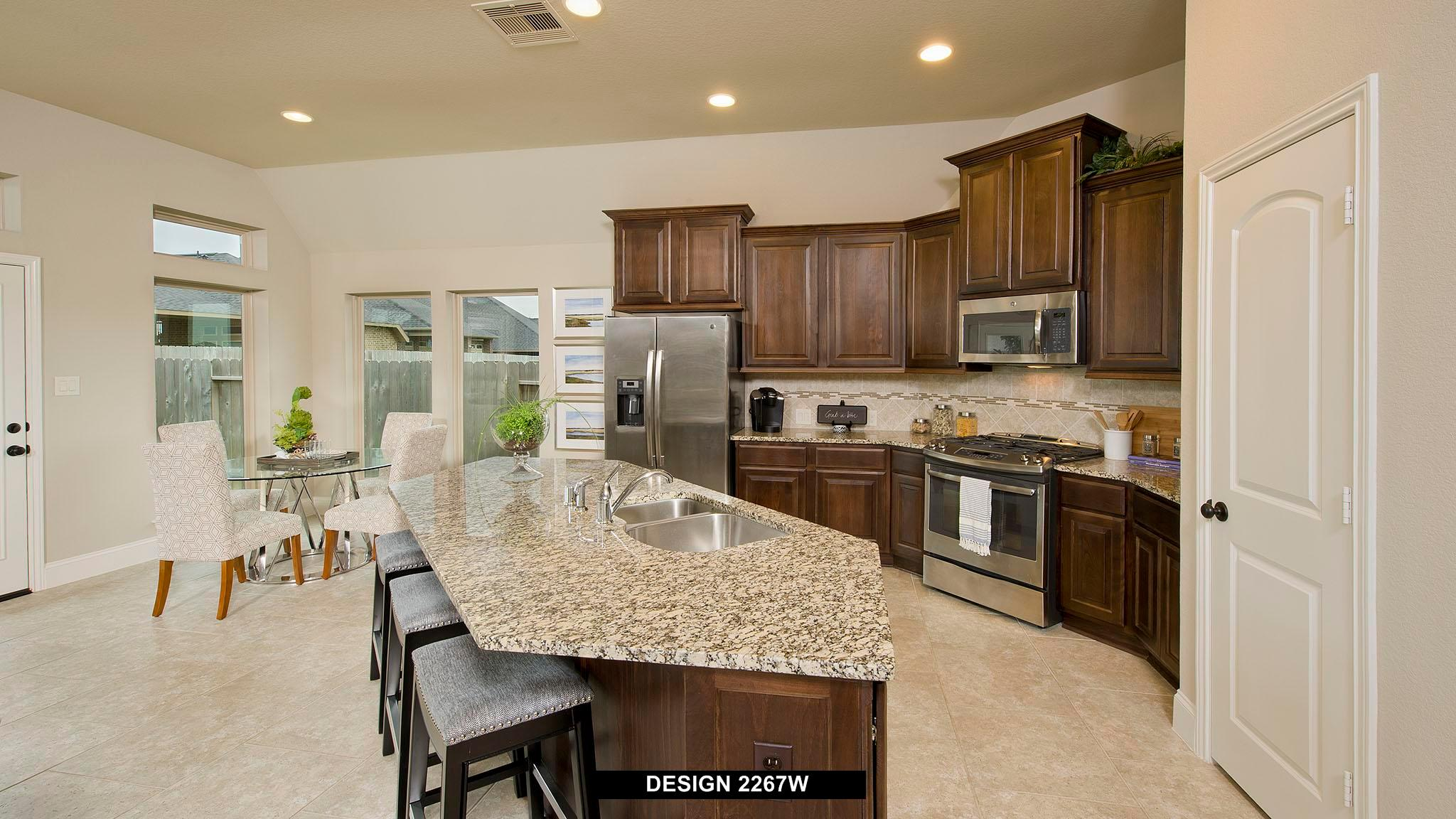 Kitchen featured in the 2267W By Perry Homes in Dallas, TX