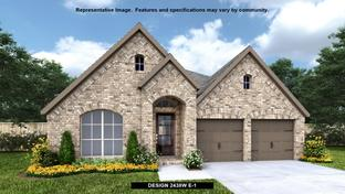 2438W - Kallison Ranch 50': San Antonio, Texas - Perry Homes