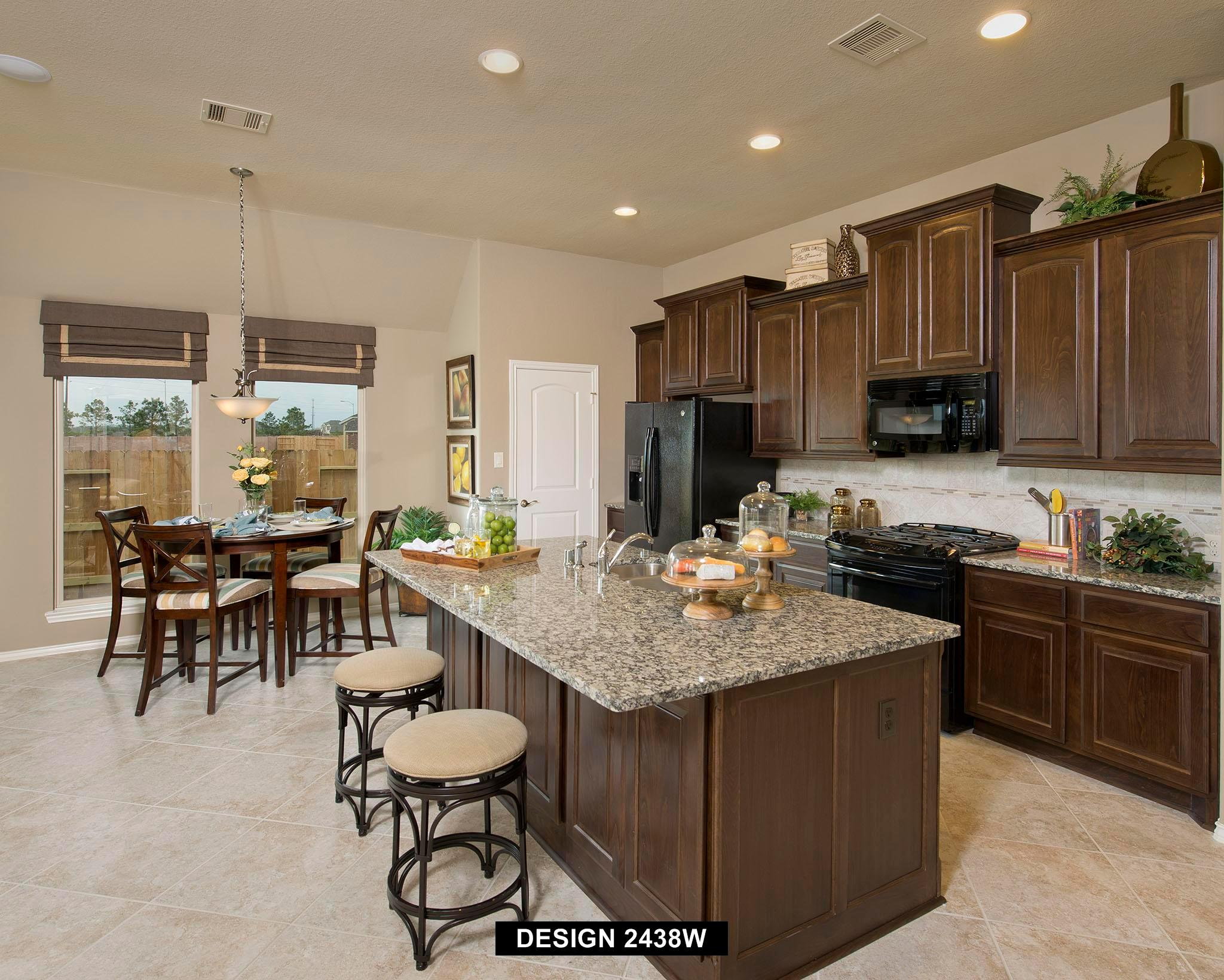 Kitchen featured in the 2438W By Perry Homes in Houston, TX