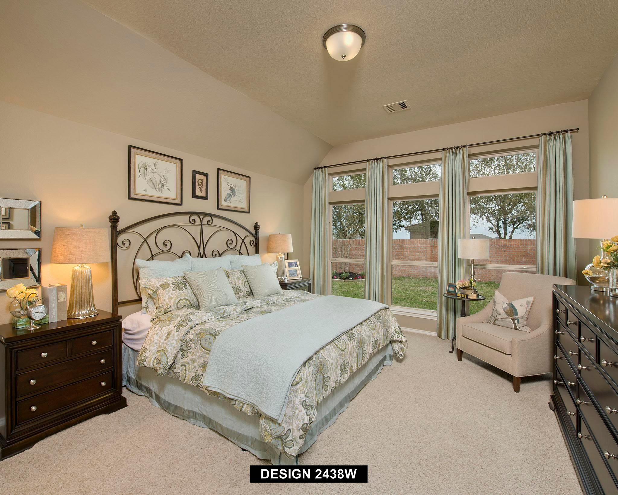 Bedroom featured in the 2438W By Perry Homes in Houston, TX