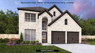 2442W - Trails at Westpointe 45': San Antonio, Texas - Perry Homes