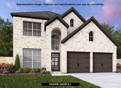 2442W - Prairie Oaks 45': Little Elm, Texas - Perry Homes