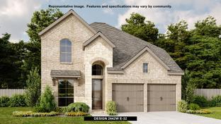 2442W - Kinder Ranch 50': San Antonio, Texas - Perry Homes