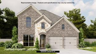 2442W - Elyson 45': Katy, Texas - Perry Homes