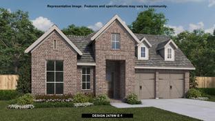 2476W - Cane Island 50': Katy, Texas - Perry Homes