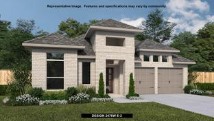 2476W - Anthem 50': Kyle, Texas - Perry Homes