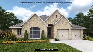 2493W - Cross Creek Ranch 55': Fulshear, Texas - Perry Homes