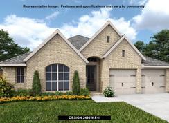 2493W - Bridgeland 55': Cypress, Texas - Perry Homes
