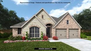 2493W - Reserve at Creekside 60': Denton, Texas - Perry Homes