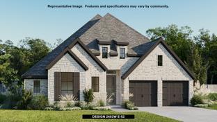 2493W - Elyson 55': Katy, Texas - Perry Homes