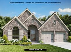 2529W - The Village of Mill Creek 50': Seguin, Texas - Perry Homes